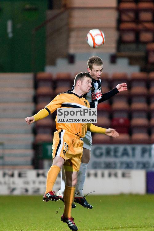 Dunfermline v Dumbarton Scottish Division 1 Saturday 24 November 2012. (c) Russell Sneddon | StockPix.eu
