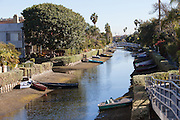 A Canal in Venice Beach California