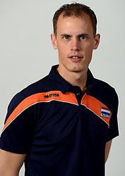 13-05-2014 NED: Selectie Nederlands volleybal team mannen, Arnhem<br /> Op Papendal werd het Nederlands team volleybal seizoen 2014-2015 gepresenteerd / Aswin van der Kamp