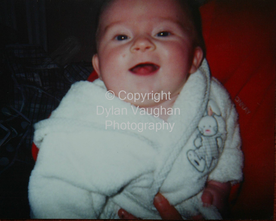 21/7/2004..Cian Downes aged 2 to 3 months pictured before he died...Collect picture Dylan Vaughan.