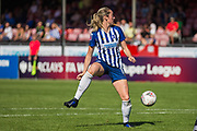 Megan Connolly (Brighton) during the FA Women's Super League match between Brighton and Hove Albion Women and Chelsea at The People's Pension Stadium, Crawley, England on 15 September 2019.