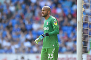 Darren Randolph (23) of Middlesbrough during the EFL Sky Bet Championship match between Cardiff City and Middlesbrough at the Cardiff City Stadium, Cardiff, Wales on 21 September 2019.