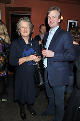 LADY HOLMAN and EDWARD LEGARD at a party to relaunch PR First London, held at the 606 Club, Lots Road, London SW10 on 16th January 2013.