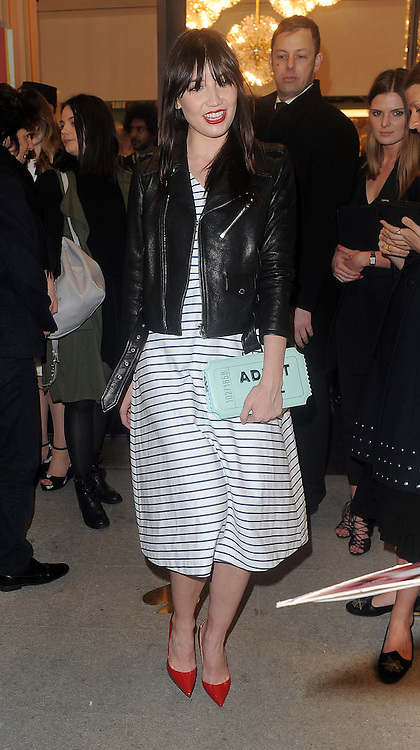 Model Daisy Lowe attends the Kate Spade New York Regent Street - launch in London, UK. 21/04/2016<br />