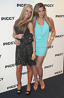 LONDON - MAY 01:  Jennifer Lane & Louise Glover attends the Piggy UK Premiere at the Odeon Covent Garden, London, UK. May 01, 2012. (Photo by Brett D. Cove)