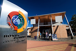 Shopping center in Roxby Downs Australia