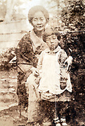 grandmother with child Japan ca 1930s