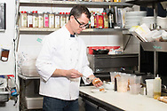 Noah Shwartz owner and chef, of Noeh's Restaurant, New American, Greenport, NY