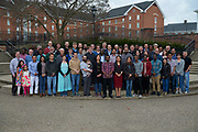 Math Department group photo including Faculty and Graduate Students.
