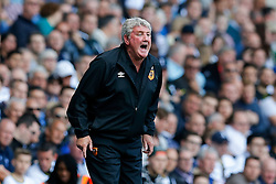 Hull City Manager Steve Bruce - Photo mandatory by-line: Rogan Thomson/JMP - 07966 386802 - 16/05/2015 - SPORT - FOOTBALL - London, England - White Hart Lane - Tottenham Hotspur v Hull City - Barclays Premier League.