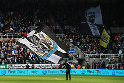 Newcastle United flags and banners prior to kick off - Mandatory by-line: Matt McNulty/JMP - 15/04/2018 - FOOTBALL - St James Park - Newcastle upon Tyne, England - Newcastle United v Arsenal - Premier League