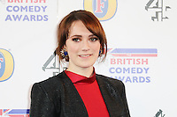 Charlotte Ritchie, British Comedy Awards, Fountain Studios, London UK, 12 December 2013, Photo by Richard Goldschmidt