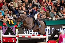 EGGERSMANN Friederike (GER), Calotta<br /> Leipzig - Partner Pferd 2019<br /> IDEE Kaffe Preis<br /> CSI5*<br /> 18. Januar 2019<br /> © www.sportfotos-lafrentz.de/Stefan Lafrentz