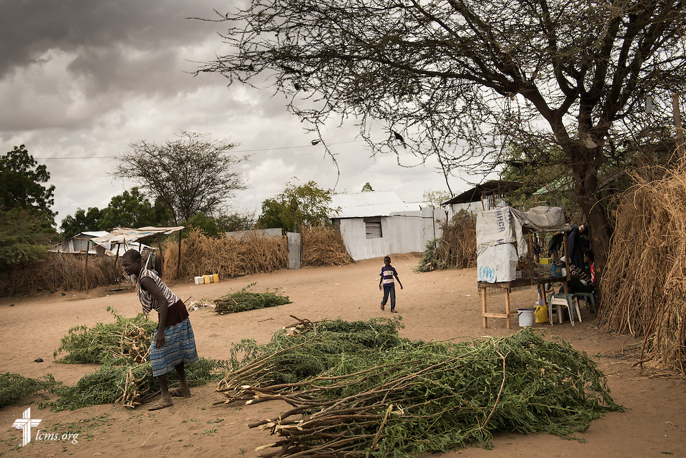 Photographs in congregations at Kakuma Refugee Camp on Saturday, Oct. 17, 2015, in Kakuma, Kenya. LCMS Communications/Erik M. Lunsford
