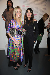 Left to right, NOELLE RENO and TAMARA MELLON at a party to celebrate the launch of the Bobbi Brown Makeup Manual held at the Getty Images Gallery, 46 Eastcastle Street, London W1 on 29th January 2009.