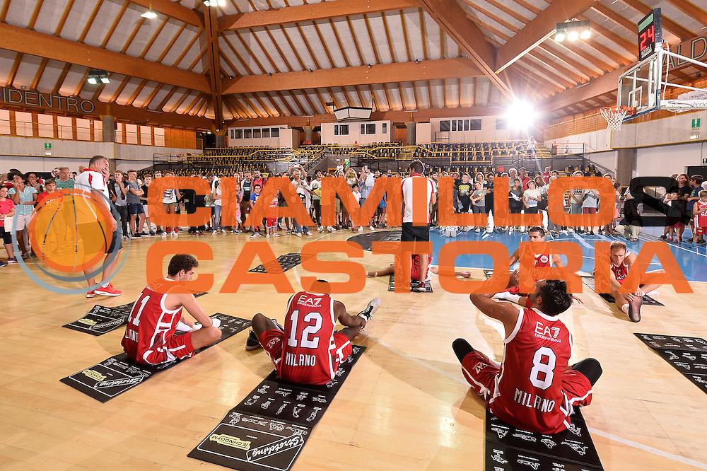 team<br /> EA7 Emporio Armani Olimpia Milano - Legnano Knights <br /> Lega Basket Serie A 2016/2017<br /> Bormio 28/08/2016<br /> Foto Ciamillo-Castoria