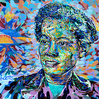 Pauli Murray Roots and Soul Mural in Durham, North Carolina<br />