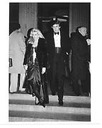 Donald and Ivana Trump© Copyright Photograph by Dafydd Jones 66 Stockwell Park Rd. London SW9 0DA Tel 020 7733 0108 www.dafjones.com