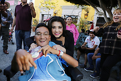 "LYNWOOD, CA - APRIL 19: Singer Graciela Beltran poses with fans during her meet and greed to promote her latest CD ""Evitame La Pena"" at Plaza Mexico in Lynwood, California USA on April 19, 2017. Byline, credit, TV usage, web usage or linkback must read SILVEXPHOTO.COM. Failure to byline correctly will incur double the agreed fee. Tel: +1 714 504 6870."