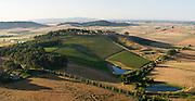 Aerial view of Van Duzer Winery and Vineyards, Willamette Valley, Oregon