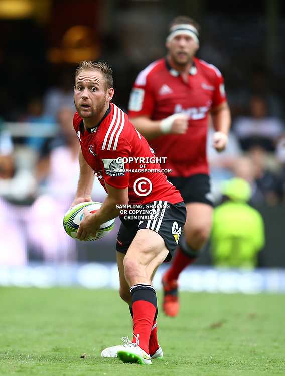 DURBAN, SOUTH AFRICA - APRIL 04: Andy Ellis of the Crusaders during the Super Rugby match between Cell C Sharks and Crusaders at Growthpoint Kings Park on April 04, 2015 in Durban, South Africa. (Photo by Steve Haag/Gallo Images)