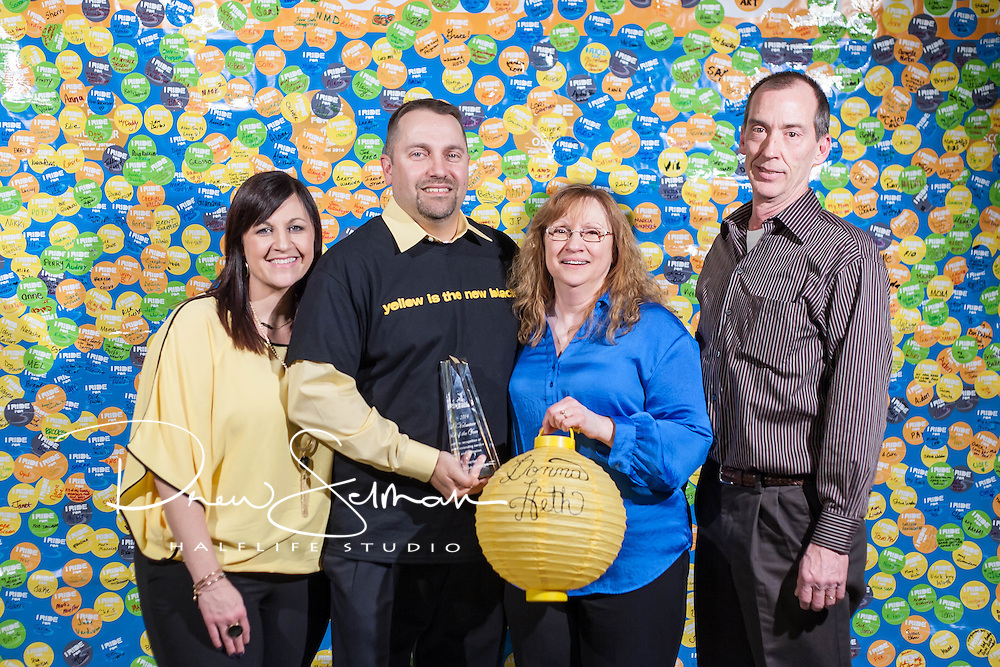 28 Feb 2015 - St. Louis  -- Pedal the Cause Yellow Jersey Celebration
