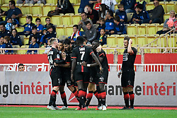 October 7, 2018 - Monaco, France - 18 HATEM BEN ARFA (REN) - 08 CLEMENT GRENIER (REN) - 03 DAMIEN DA SILVA (REN) - JOIE (Credit Image: © Panoramic via ZUMA Press)