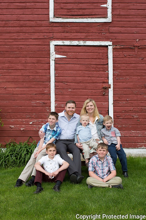 McElderry Family :: Marshfield, Wisconsin Family Photography