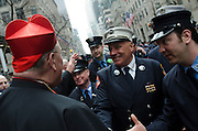 Images from of Cardinal Dolan announcing the commencment of the renovation and restoration of St. Patricks Cathedral.