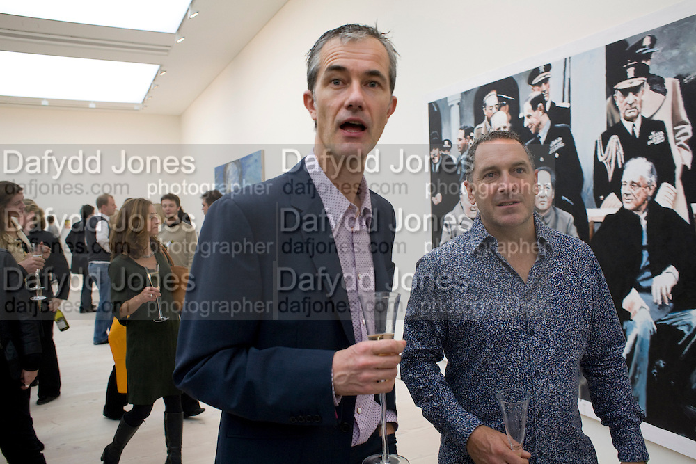 GEOFF DYER, The Revolution Continues: New Art From China. The opening of the New Saatchi Gallery. King's Rd.  London. 7 October 2008. *** Local Caption *** -DO NOT ARCHIVE-© Copyright Photograph by Dafydd Jones. 248 Clapham Rd. London SW9 0PZ. Tel 0207 820 0771. www.dafjones.com.