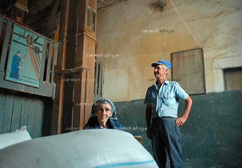 village mill in oltenia region