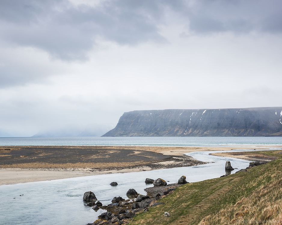 Örlygshöfn, West fiords of Iceland.