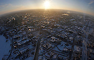 TREVOR HAGAN - Winnipeg, seen from Air 1, the WPS helicopter.<br /> February 25th, 2011