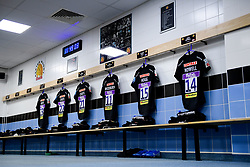 General view of the Exeter Chiefs changing room prior to kick off - Mandatory by-line: Ryan Hiscott/JMP - 29/12/2019 - RUGBY - Sandy Park - Exeter, England - Exeter Chiefs v Saracens - Gallagher Premiership Rugby