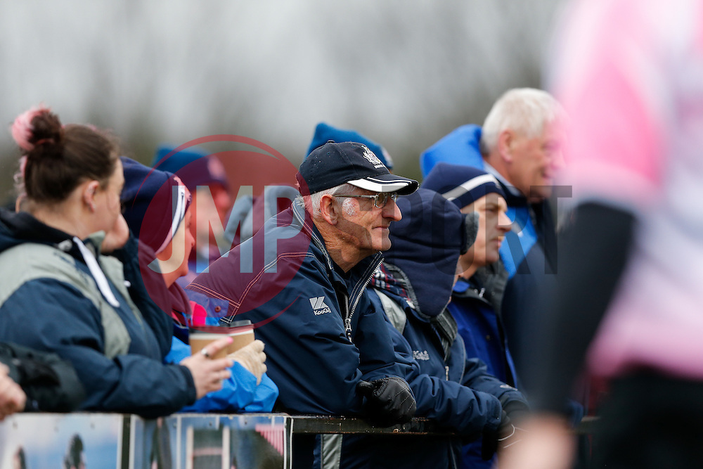 Bristol Rugby supporters - Mandatory byline: Rogan Thomson/JMP - 06/02/2016 - RUGBY UNION - Clifton Lane - Rotherham, England - Rotherham Titans v Bristol Rugby - Greene King IPA Championship.
