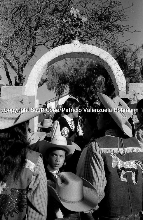 Ayquina 2004.<br /> This pictures are part of a 10 year long project about religious festivities in Chile where Spanish and indigenous ways mixed up conforming diverse and unique way of worshipping god and virgin Mary.