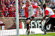 Onderwerp/Subject: Feyenoord - Eredivisie<br /> Reklame:  <br /> Club/Team/Country: Feyenoord<br /> Seizoen/Season: 2010/2011<br /> FOTO/PHOTO: Feyenoord's Luc CASTAIGNOS (L) celebrating his goal (1-0). (Photo by PICS UNITED)<br /> <br /> Trefwoorden/Keywords:  <br /> #02 $94 &plusmn;1279295324043<br /> Photo- &amp; Copyrights &copy; PICS UNITED <br /> P.O. Box 7164 - 5605 BE  EINDHOVEN (THE NETHERLANDS) <br /> Phone +31 (0)40 296 28 00 <br /> Fax +31 (0) 40 248 47 43 <br /> http://www.pics-united.com <br /> e-mail : sales@pics-united.com (If you would like to raise any issues regarding any aspects of products / service of PICS UNITED) or <br /> e-mail : sales@pics-united.com   <br /> <br /> ATTENTIE: <br /> Publicatie ook bij aanbieding door derden is slechts toegestaan na verkregen toestemming van Pics United. <br /> VOLLEDIGE NAAMSVERMELDING IS VERPLICHT! (&copy; PICS UNITED/Naam Fotograaf, zie veld 4 van de bestandsinfo 'credits') <br /> ATTENTION:  <br /> &copy; Pics United. Reproduction/publication of this photo by any parties is only permitted after authorisation is sought and obtained from  PICS UNITED- THE NETHERLANDS