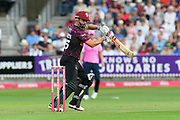 James Hildreth of Somerset batting during the Vitality T20 Blast South Group match between Somerset County Cricket Club and Middlesex County Cricket Club at the Cooper Associates County Ground, Taunton, United Kingdom on 30 August 2019.