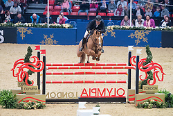 Funnell William, GBR, Billy Angelo<br />  The Shelley Ashman International Ltd, EM Rogers (Transport) Ltd Father Christmas Stakes<br /> Olympia Horse Show -London 2016<br /> © Hippo Foto - Jon Stroud<br /> 17/12/16