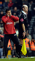 Photo: Alan Crowhurst.<br />Fulham v West Ham United. The Barclays Premiership. 23/12/2006. Fulham coach Chris Coleman.