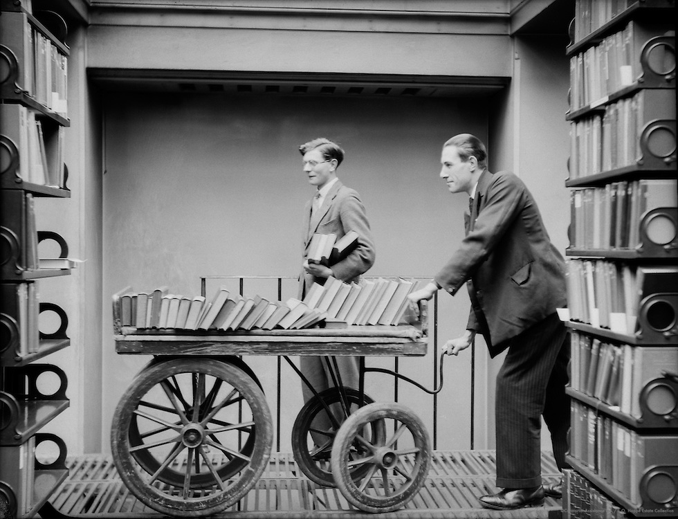 Book Trolley, British Museum, London, 1931