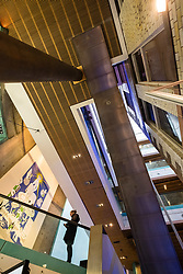 Interior of The Lighthouse, Scotland's Centre for Design and Architecture ,former Glasgow Herald Building , designed by architect Charles Rennie Mackintosh, Glasgow, United Kingdom