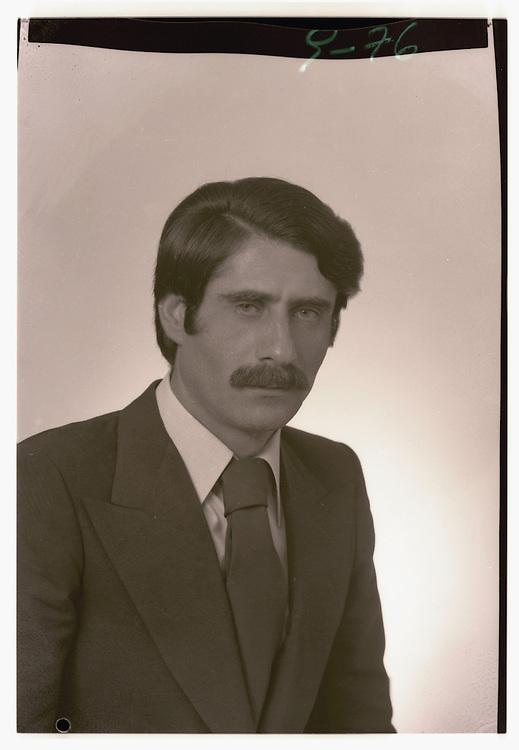 portrait of a man <br /> september 1976