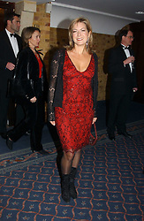TV presenter PENNY SMITH at the 2004 Whitbread Book Awards held at The Brewery, Chiswell Street, London EC1 on 25th January 2005.<br />