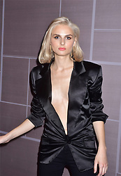 Andrej Pejic arriving for Daily Front Row 5th Annual Fashion Media Awards, Four Seasons Hotel Downtown, New York City, NY, USA September 8, 2017. Photo by MM/ABACAPRESS.COM