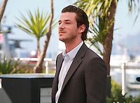 Gaspard Ulliel at the photo call for the film Saint Laurent at the 67th Cannes Film Festival, Saturday 17th May 2014, Cannes, France.