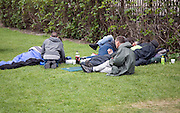 Homeless people, London, England