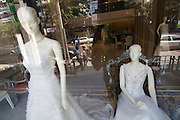Thonglor (Sukhumvit Soi 55), at this time Bangkok's most fashionable area. Shop for wedding dresses.