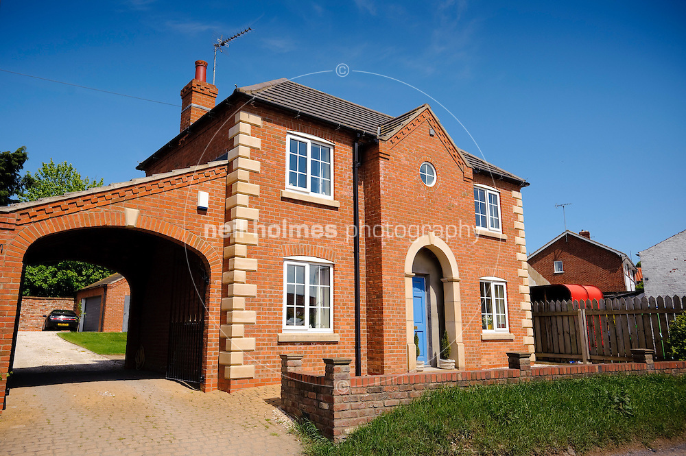 New House on Station road, Middleton on the Wolds