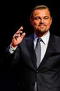 AMSTERDAM - Leonardo Di Caprio tijdens het jaarlijkse Goed Geld Gala in theater Carre. ANP KIPPA ROBIN UTRECHT